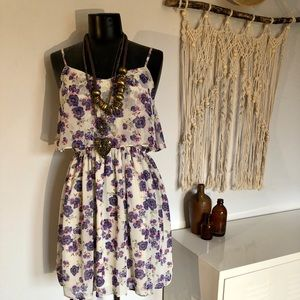 Topshop cute summer dress size S